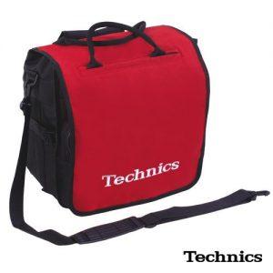 Technics Plak Taşıma Çantası Kırmızı