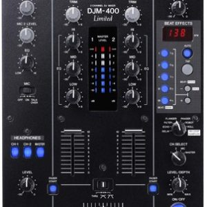 Pioneer DJM400 DJ Mixer (Limited Edition)