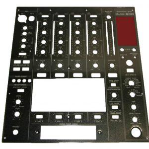 Pioneer DJM800 Ön Panel