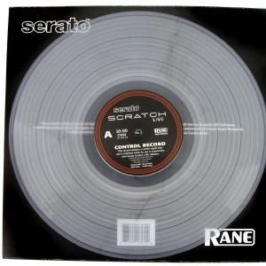 Serato CLEAR Replacement Scratch Vinyl Ver.02