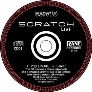 Serato Control CD 1.0