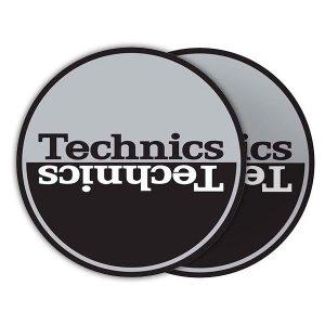 Technics Moon 1 Silver Slipmats