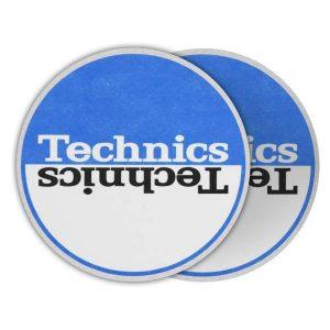 Technics Moon 2 Blue Slipmats