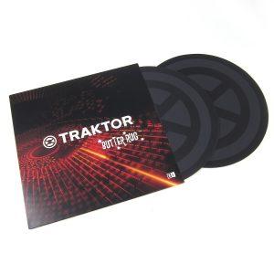 Native Instruments Traktor Butter Rugs Advanced Slipmats for Turntablists (Çift)