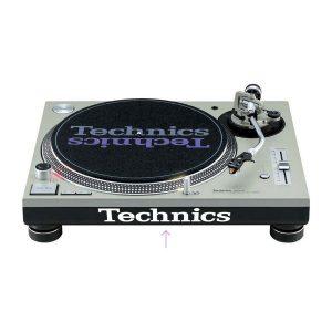Technics Turntable Logo Stiker Set SL1200 / SL1210 4 Adet