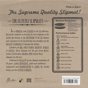 "Dr Suzuki Technics Mix Edition 12"" Slipmats (2 Adet)"