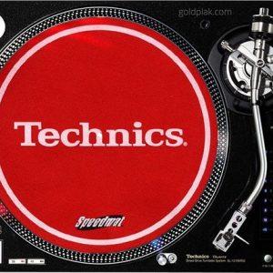 Technics Speedmat (Red)