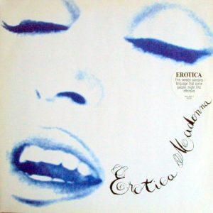 Madonna – Erotica Plak