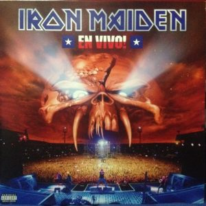 Iron Maiden ‎– En Vivo! Plak