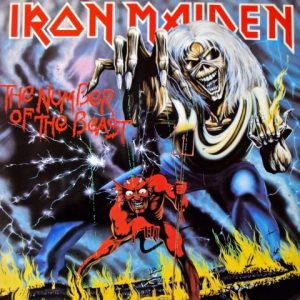 Iron Maiden ‎– The Number Of The Beast Plak