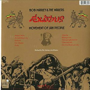 Bob Marley & The Wailers ‎– Exodus: 30th Anniversary Edition: Bob Marley And The Wailers Plak