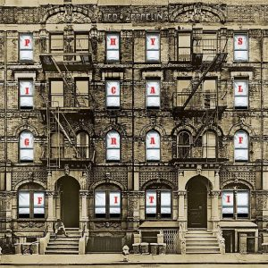 Led Zeppelin ‎– Physical Graffiti Plak