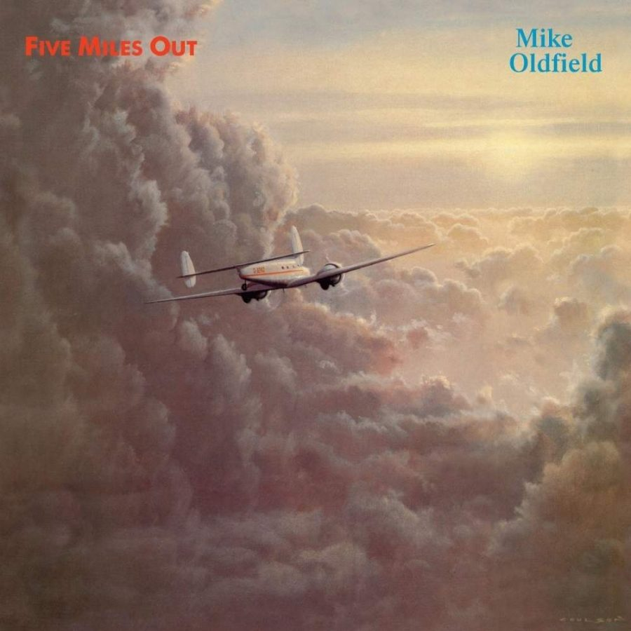 Mike Oldfield – Five Miles Out Plak