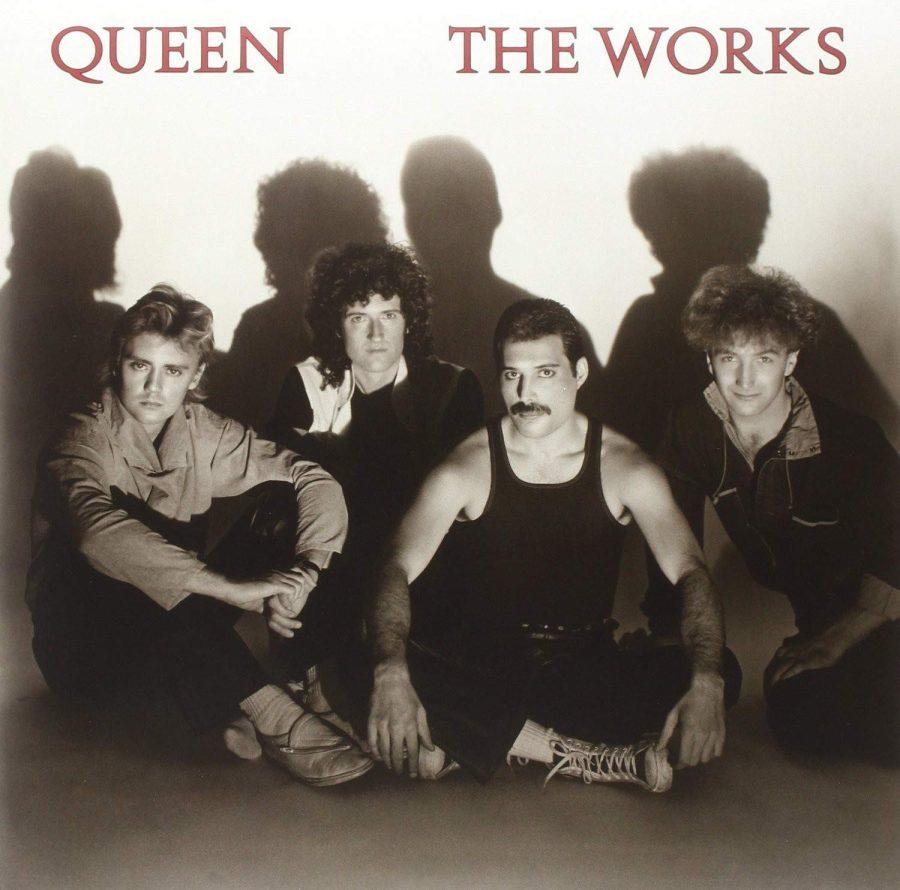Queen – The Works Plak