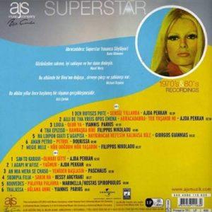Ajda Pekkan – Superstar / Ajda Pekkan's Greek Songs Plak