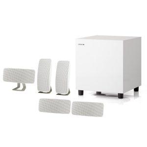 JAMO A 200 HCS5 5.1 Sinema Paketi / Siyah - Beyaz