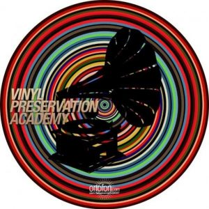 Ortofon 9990164 Slipmat Vinyl Spiral