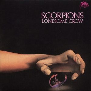 Scorpions ‎– Lonesome Crow Plak
