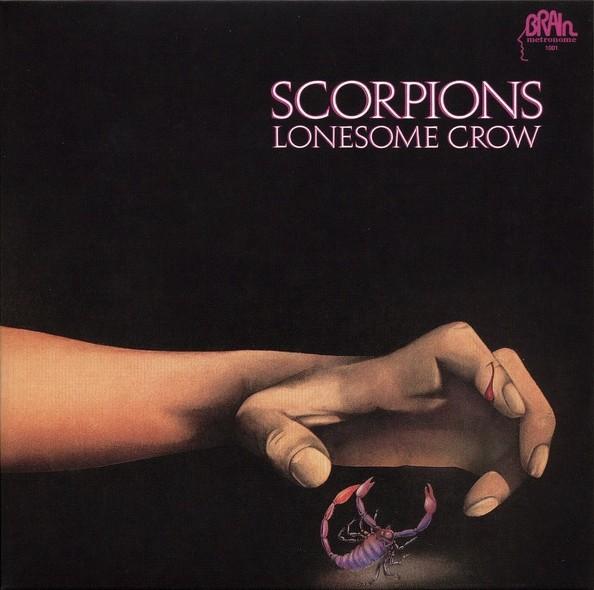 Scorpions – Lonesome Crow Plak