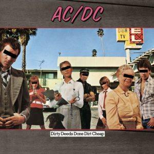 AC/DC – Dirty Deeds Done Dirt Cheap Plak