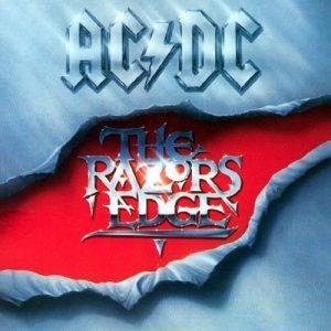 AC/DC – The Razor's Edge Plak
