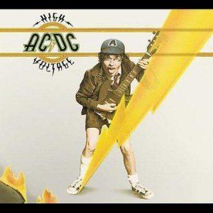 AC/DC – High Voltage Plak