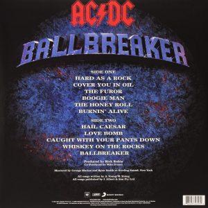 AC/DC – Ballbreaker Plak