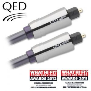 QED QE-6600 PERFORMANCE OPTICAL GRAPHITE 1 Metre