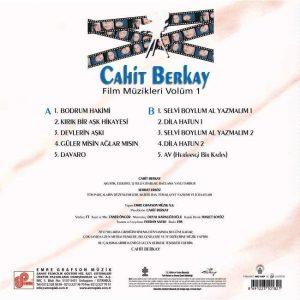 Cahit Berkay - Film Müzikleri 1 ( Plak)
