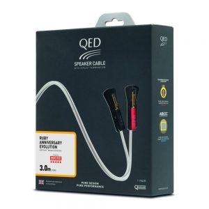QED QE-1422 RUBY A PRE-TERMINATED Hoparlör Kablosu 3 Metre