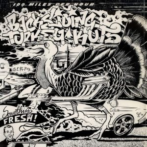 Darth Fader and The Wax Warriors - 100 mph Backsliding Turkey Kuts