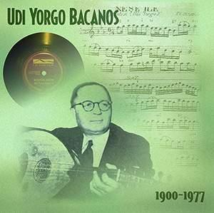 Udi Yorgo Bacanos 1900/1977 - Plak