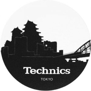 Technics Tokyo Skyline Slipmats 2 Adet