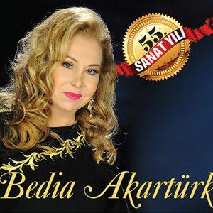 Bedia Akartürk 55. Sanat Yılı - Plak