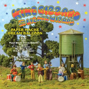 King Gizzard And The Lizard Wizard Paper Mâché Dream Balloon (Translucent Orange Vinyl) - Plak
