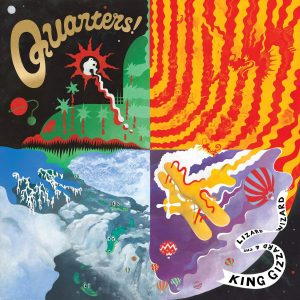 King Gizzard & The Lizard Wizard Quarters! - Plak