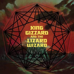 King Gizzard And The Lizard Wizard Nonagon Infinity (Red & Black Blob Vinyl) - Plak