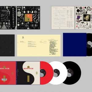 Bon Iver 22, A Million (Selected Store Only Deluxe Edition) + NEWSPAPER - Plak