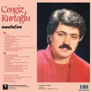 Cengiz Kurtoğlu Unutulan - Plak