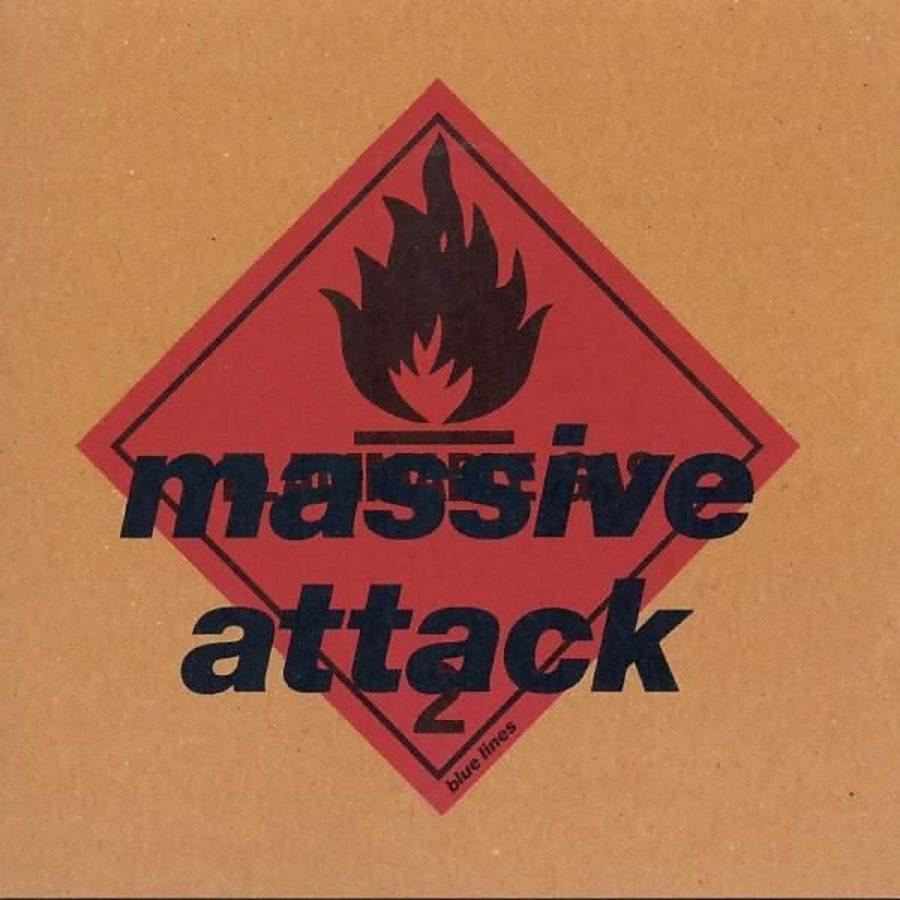 Massive Attack Blue Lines - Plak
