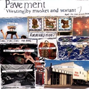 Pavement Westing (By Musket And Sextant) - Plak