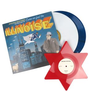 Sufjan Stevens Illinois (Special 10th Anniversary Blue Marvel Edition) - Plak
