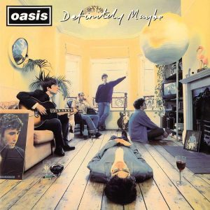 Oasis Definitely Maybe - Plak