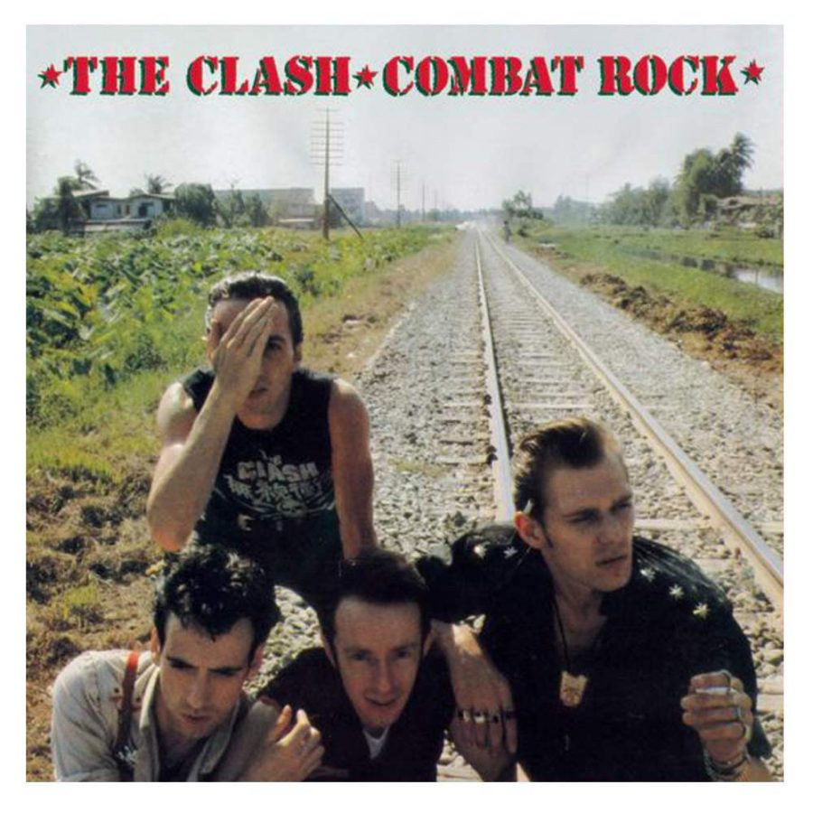 The Clash Combat Rock - Plak
