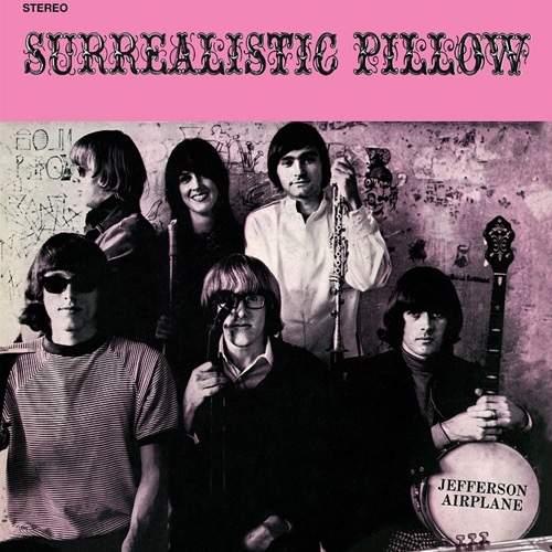 Jefferson Airplane Surrealistic Pillow - Plak
