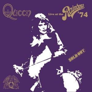 Queen Live at the Rainbow 74 - Plak