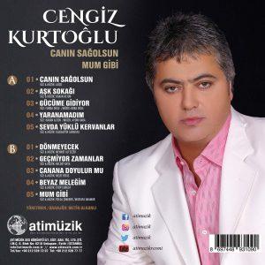 Cengiz Kurtoğlu Canın Sağolsun Mum Gibi - Plak