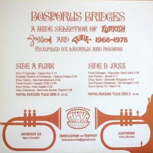Bosporus Bridges - A Wide Selection Of Turkish Jazz And Funk