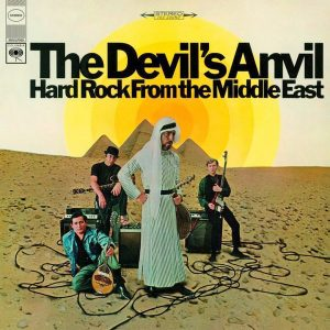 The Devil's Anvil Hard Rock From The Middle East - Plak