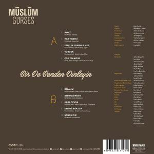 Müslüm Gürses Bir De Benden Dinleyin - Plak